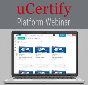 uCertify Platform Webinar - March 29th at 8:00 AM PDT