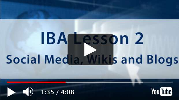 CIW Internet Business Associate Lesson 2: Social Media, Wikis and Blogs